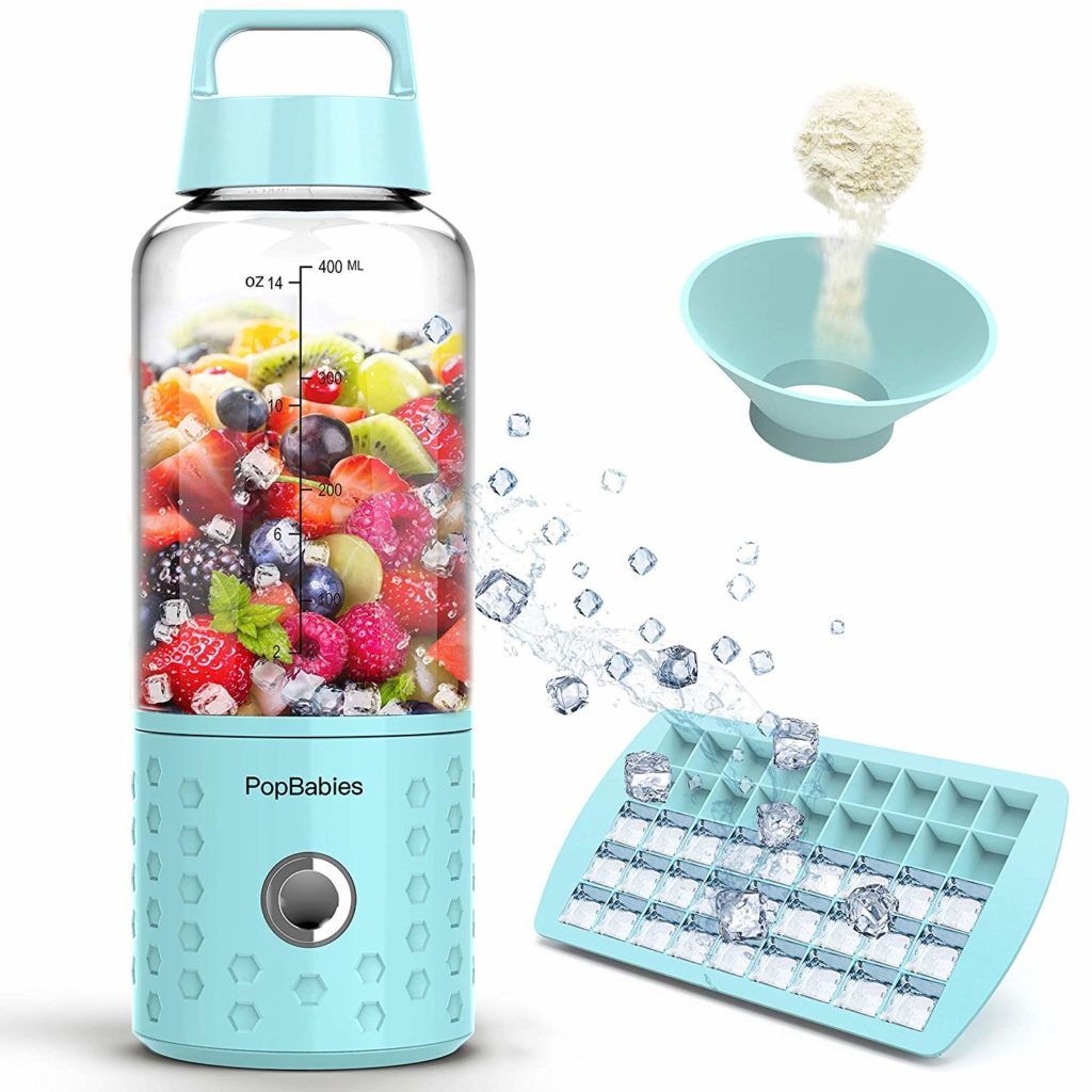 PopBabies Personal & Portable Travelling Blender for smoothies