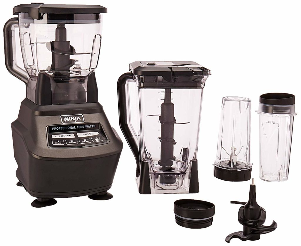 Ninja BL770 Mega Kitchen System and Blender with Total Crushing Pitcher,