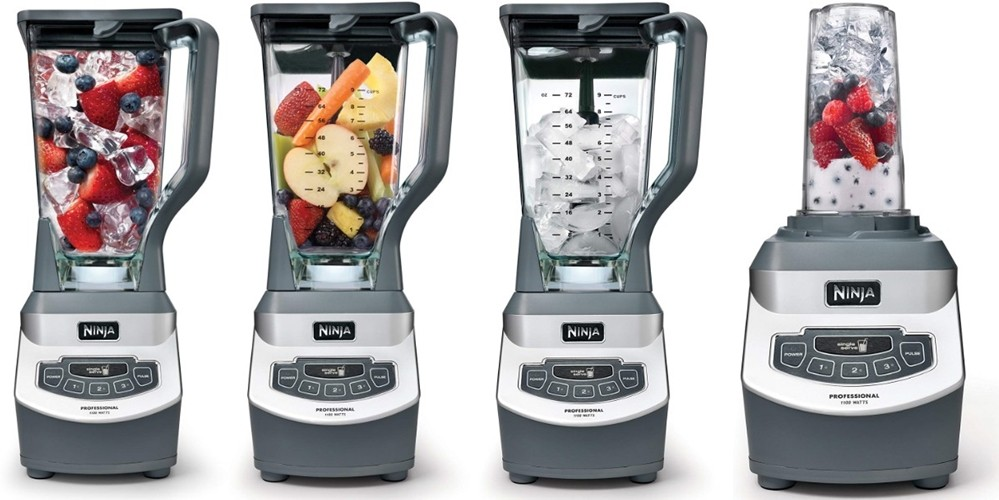 Ninja Professional Countertop Blender with 1100-Watt Base