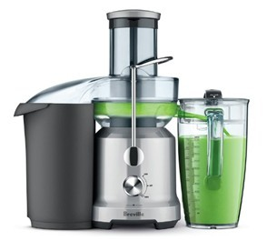 Breville BJE430SIL juicer for celery