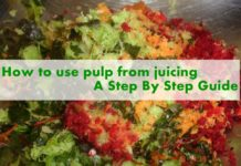 How to use pulp from juicing