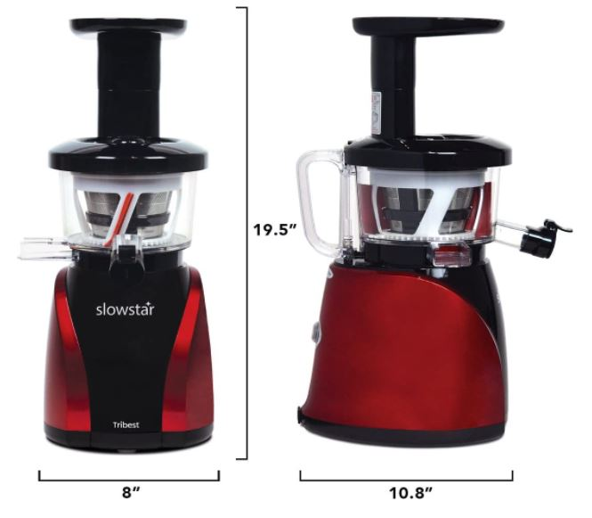 Tribest SW-2020 Slowstar - Best Masticating Juicer on a Budget