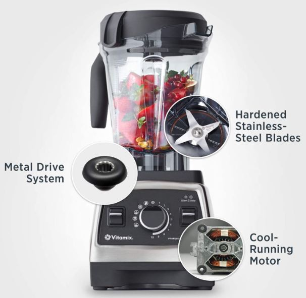 Vitamix 750 Series - Best Countertop Blender Overall For Smoothies