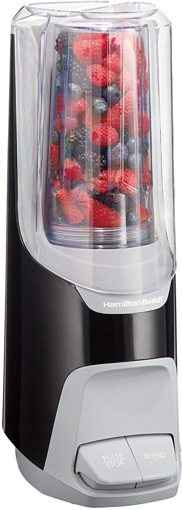 Hamilton Beach 800W Power Single-Serve Personal Blender for Shakes and Smoothies