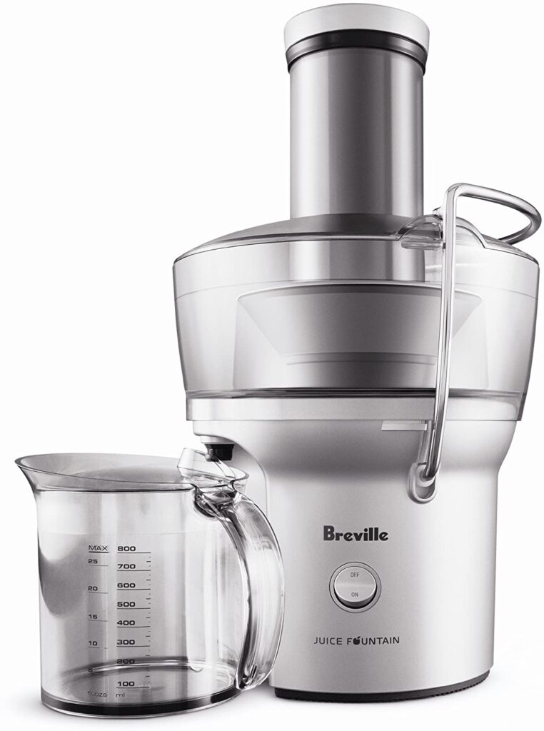 Breville BJE200XL Juice Fountain Compact Centrifugal Juicer