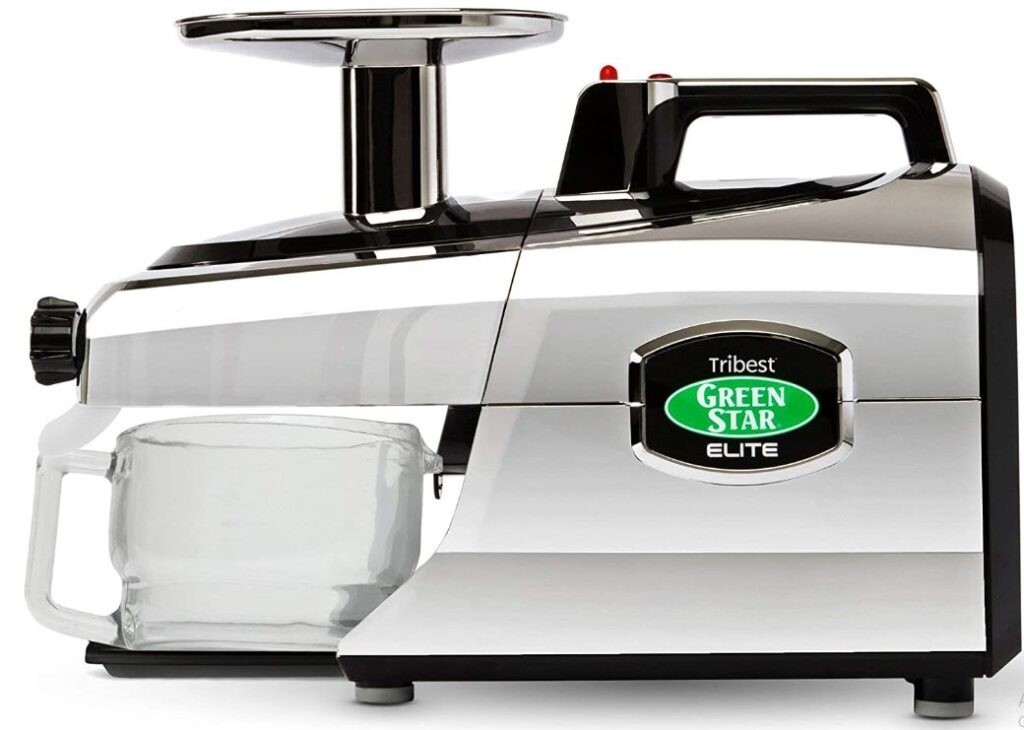Tribest GSE-5050 Greenstar Elite, Masticating Slow Juicer with Jumbo Twin Gears